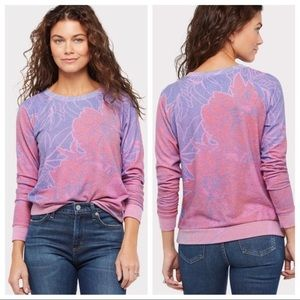Sol Angeles Floral Printed Pullover